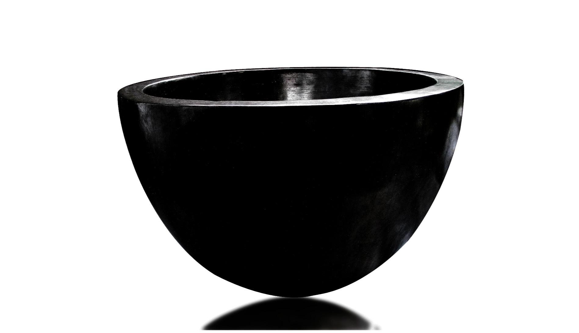 VENICE PLATER-DUCO BLACK