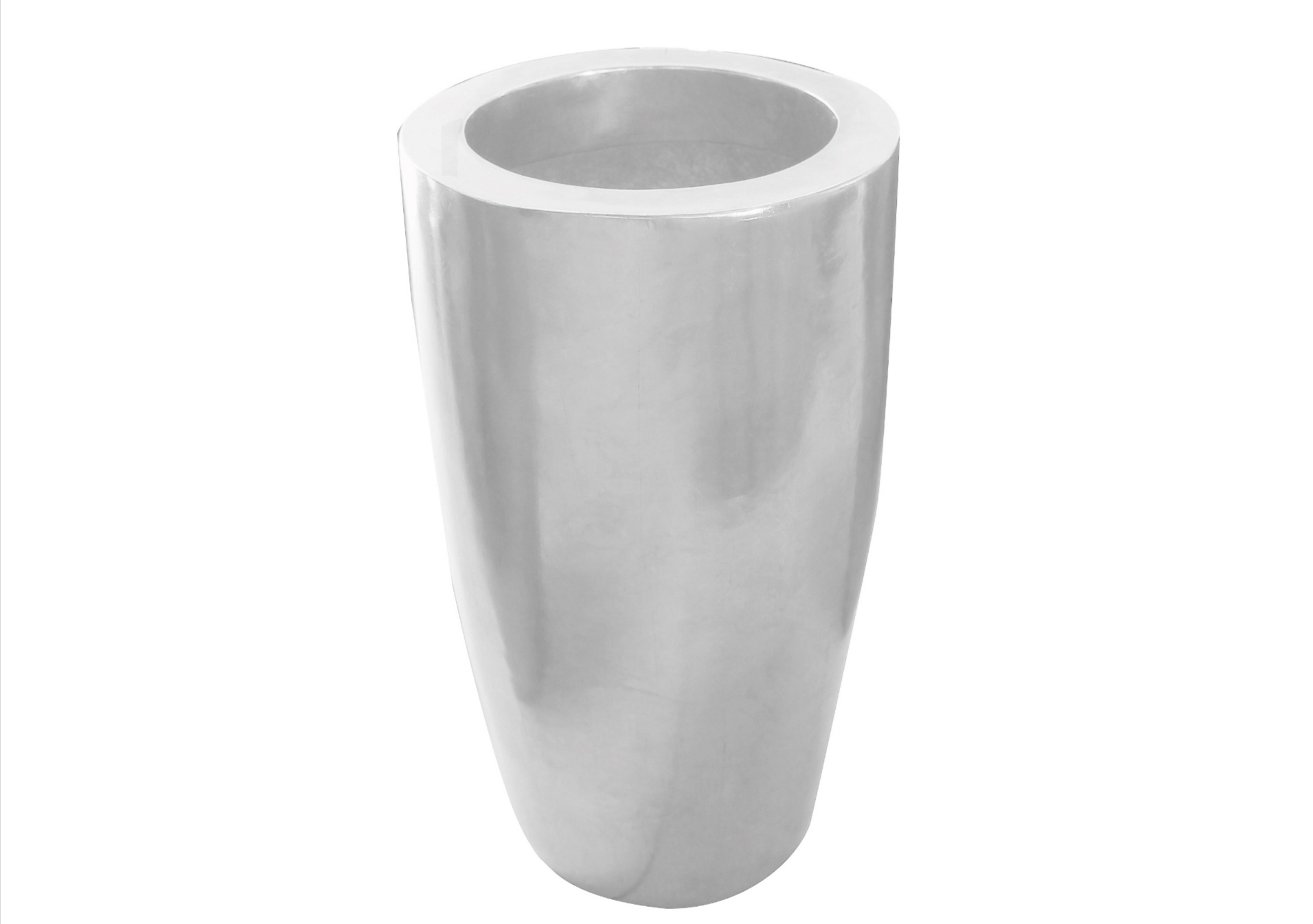 VENICE PLATER-DUCO WHITE