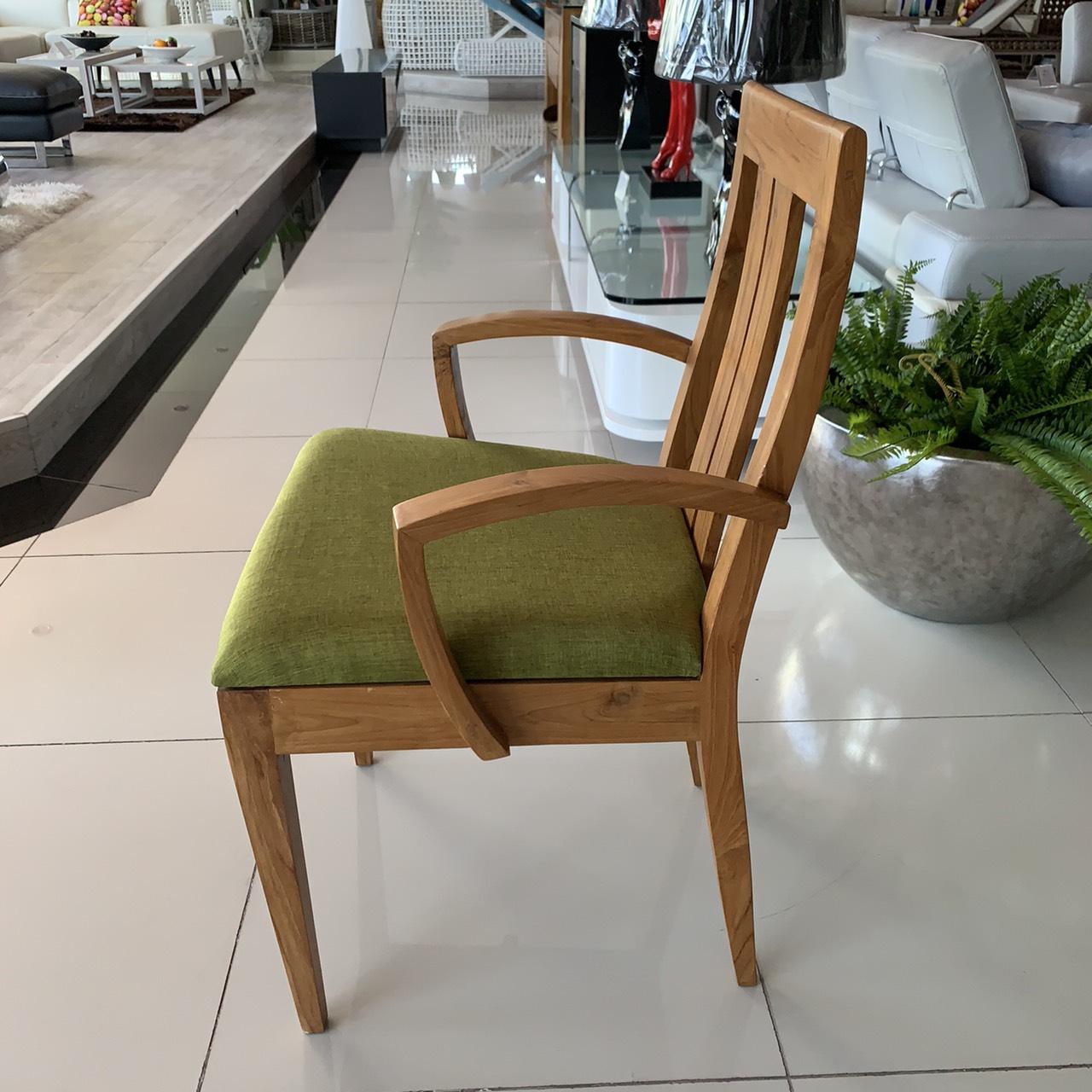 Ruby teak wood chair